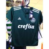 Camisa Palmeiras Verde Infantil 18/19 Nova Pronta Entrega