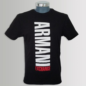 Playera Armani Exchange Negra