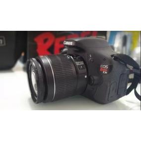 Camera Canon T3i Com Lente 18-55mm Completa. 18mpx Full Hd