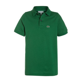 21a75104d40 Camisas Masculina Polo Lacoste Verde Regular Fit 12x S juros
