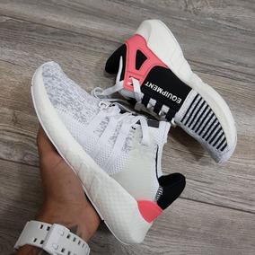 quality design b06ed 8d7eb Tenis Zapatillas adidas Eqt Support Blanca Mujer Env G
