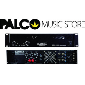 Potência Amplificadora Crest Audio Cpx2600 - Loja Palco