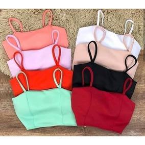 b5d651829 Top Cropped Preto Bojo - Camisetas e Blusas Cropped para Feminino no ...