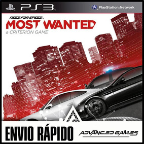 Need For Speed Most Wanted - Jogos Ps3 Midia Digital