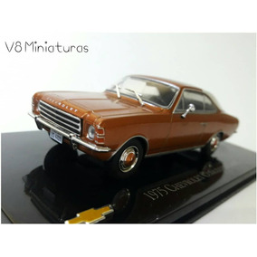 Miniatura Chevrolet Opala Coupe 1975 - Chevrolet Collection