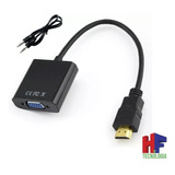 Adaptador Hdmi A Vga Con Audio Pc Ps3 1080p 60hz Hf Moron
