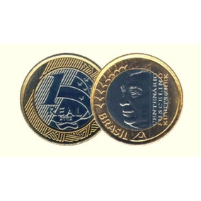 Lote-1003-moeda Comemorativa Jk-juscelino Kubitschek-mbc.