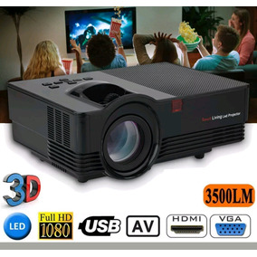 Poyector Led 4000lm Dvd,pc,usb Ps4,xbox Hdmi