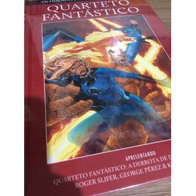 Hq Quarteto Fantastico Salvat Capa Vermelhar Ed. 30 Lacrado