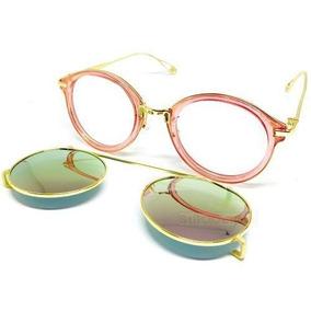 Óculos Clipon 2 X 1 Sol E Grau De - Óculos no Mercado Livre Brasil d6fc76d282