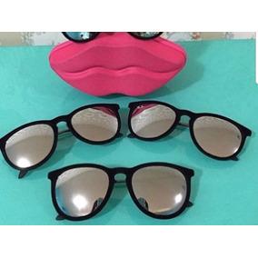Oculos De Sol Feminino Erika Velvet Redondo - Óculos no Mercado ... 20b799a92c