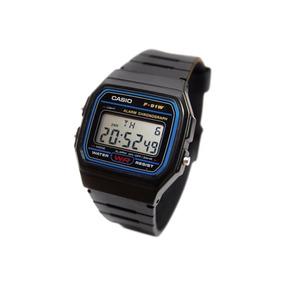 a6ac1b20ac69 Reloj Casio F91w Caballero Retro Clasico Original F91