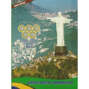 Álbum Completo De Moedas Olimpíadas Com Bandeira