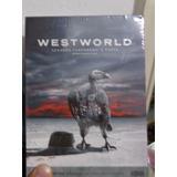 Westworld 2º Temporada A Porta Dvd Lacrado Mando Por Cr