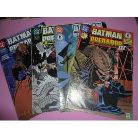 Hq Batman Vs Predador 3 Mini-serie Completa Editora Abril