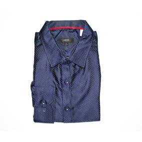 6f11bf327f9f2 Camisa Pavini Para Caballero Color Azul Con Rombos