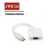 Convertidor Hdmi A Vga Video Monitor Laptop Ps3 Jwk Vision