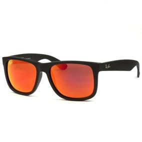 c1d0367669ee8 Oculos Ray Ban Justin Espelhado - Óculos De Sol no Mercado Livre Brasil