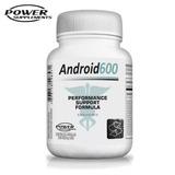 Android 600 Suplemento Pró Hormonal 60caps Power Supplements