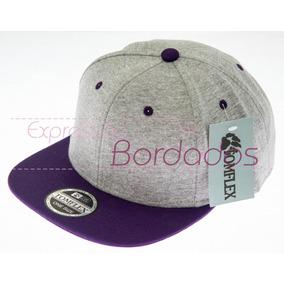 Bone Aba Reta Feminino Roxo - Bonés no Mercado Livre Brasil 39e501b68ff
