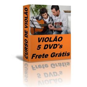 Toque Violão 5 Dvds Frete Grátis Passo A Passo E04