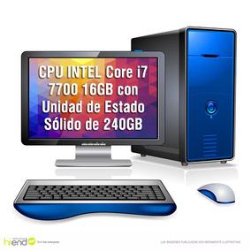 Pc Cpu Armada Intel I7 7700 16gb Ssd 240gb Hdmi Corel Hi End