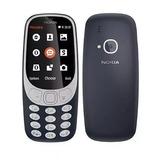 Celular Nokia Idoso 3310 Import Tela Numero Grande 4 Chips