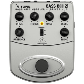 Pedal Behringer Di Bdi 21 P/ Contrabaixo V-tone Bass Driver