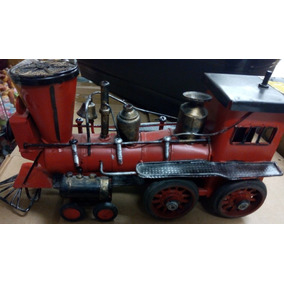 Trem De Ferro Decorativo Retrô Maria Fumaça