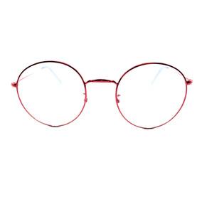 3935d13242c73 Oculos Demolidor Redondo Lente Vermelho - Óculos no Mercado Livre Brasil