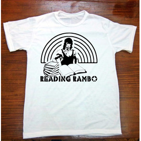 Remera Rambo - Sylvester Stallone - Mundo Absurdo