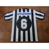 5da1cd37c55ad Camisa Botafogo Preta Usada Jogo Numero 3 G Usado no Mercado Livre ...