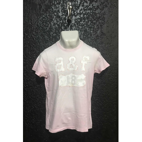 Playera, Camiseta Rosa. Abercrombie Kids. T/ Xl Usada