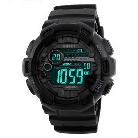aee926bc092 Relógio Masculino Militar Esportivo Shock Skmei Original