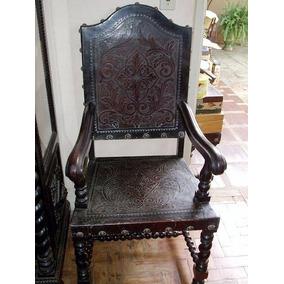 Jogo De Cadeiras Manuelino Cadeiras Antigas