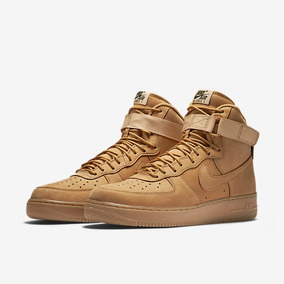 brand new 0b577 ec196 Womens Nike Air Force 1 07 Wheat Flax High