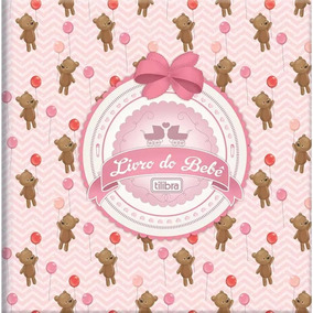 Livro Do Bebe Tilibra Capa Dura - 12.423-1 / Novo - Menina