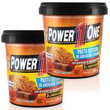Kit 2 X Pasta De Amendoim 1kg Integral - Power One