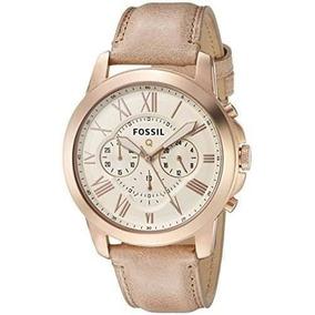 ac6ca6d9087b Fossil® Men´s Linea Grant Leather Fs4886 - Reloj para Hombre en ...