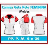 98015c762f Molde Camisa Polo Masculina Para Imprimir no Mercado Livre Brasil