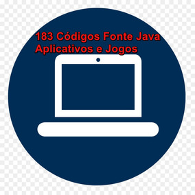 Códigos Fontes Java- Kit Com Mais 185 Aplicativos E Jogos