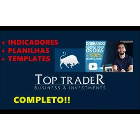 Top Trader Ronal Cutrim + Indicadores - Templates - Planilha