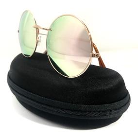 e7b1cdbbfce38 Óculos Redondo Espelhado Pronta Entrega De Sol - Óculos no Mercado ...