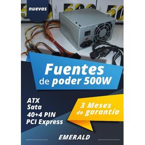 Fuente De Poder 500w