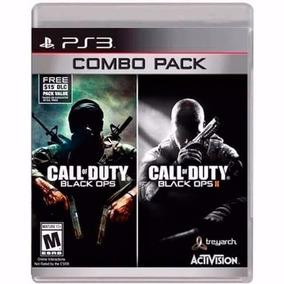 Call Of Duty Black Ops Combo Pack Ps3 2 Jogos Novo Lacrado