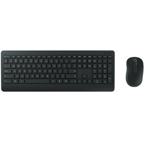 Teclado+mouse Usb Microsoft Wireless Desktop 900 Preto Combo