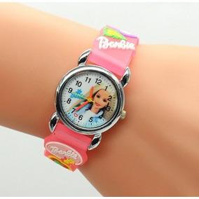 Relógio Infantil Analógico Barbie Feminino Vingadores Outlet