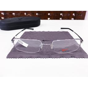 52f0b72770a3e Armacao Oculos Masculino - Óculos Armações Prateado no Mercado Livre ...
