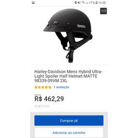 Capacete Harley Davidson Semi Novo