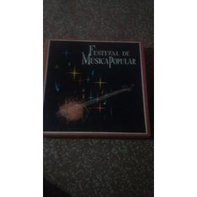 Coleção De Discos De Vinil Festival De Musica Popular